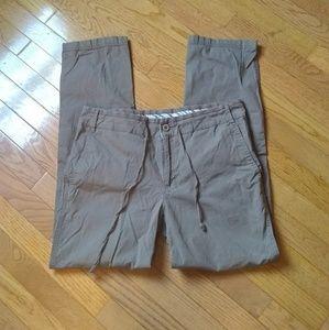 (5/$20) brown Eddie Bauer pants